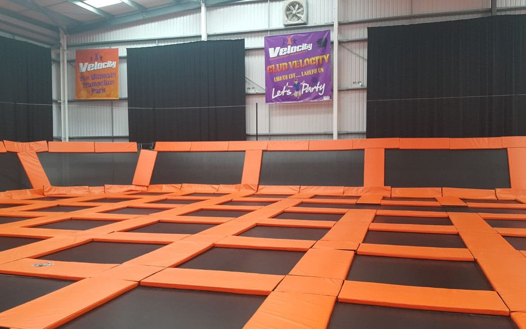 Velocity builds on their momentum to open Trampoline Park