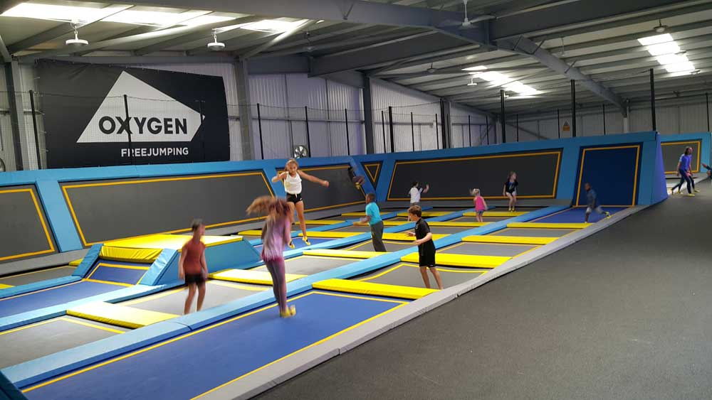 Jump around! Oxygen Freejumping takes off in London!