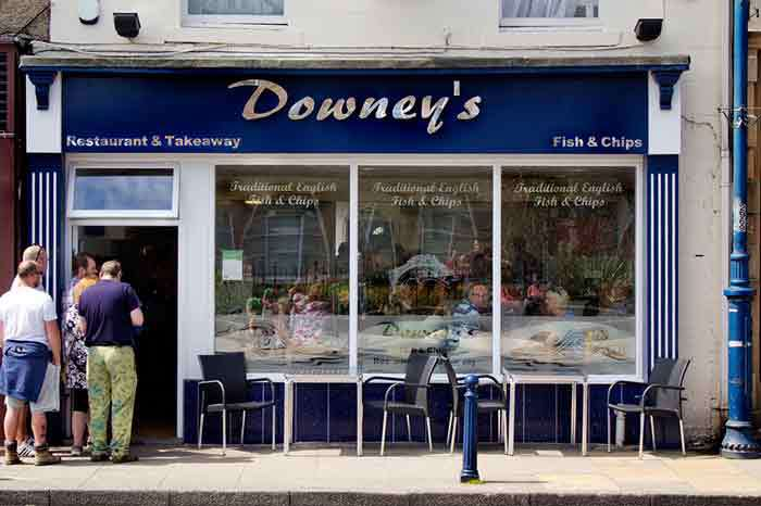 Downey's chippy finances full fit-out with Johnson Reed