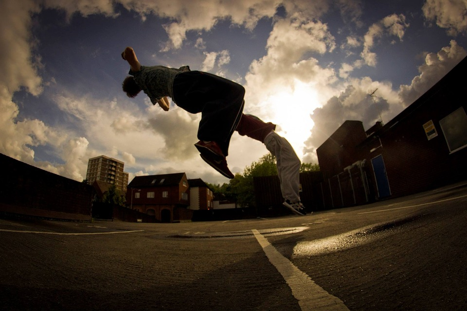 Parkour becomes recognised as an official sport in the UK