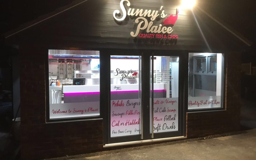 Sunny's new Plaice in Heckington