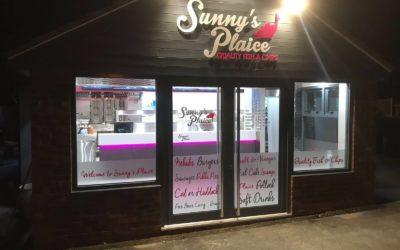 Sunny's new Plaice in Heckington