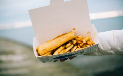 The real price of a fish and chip shop