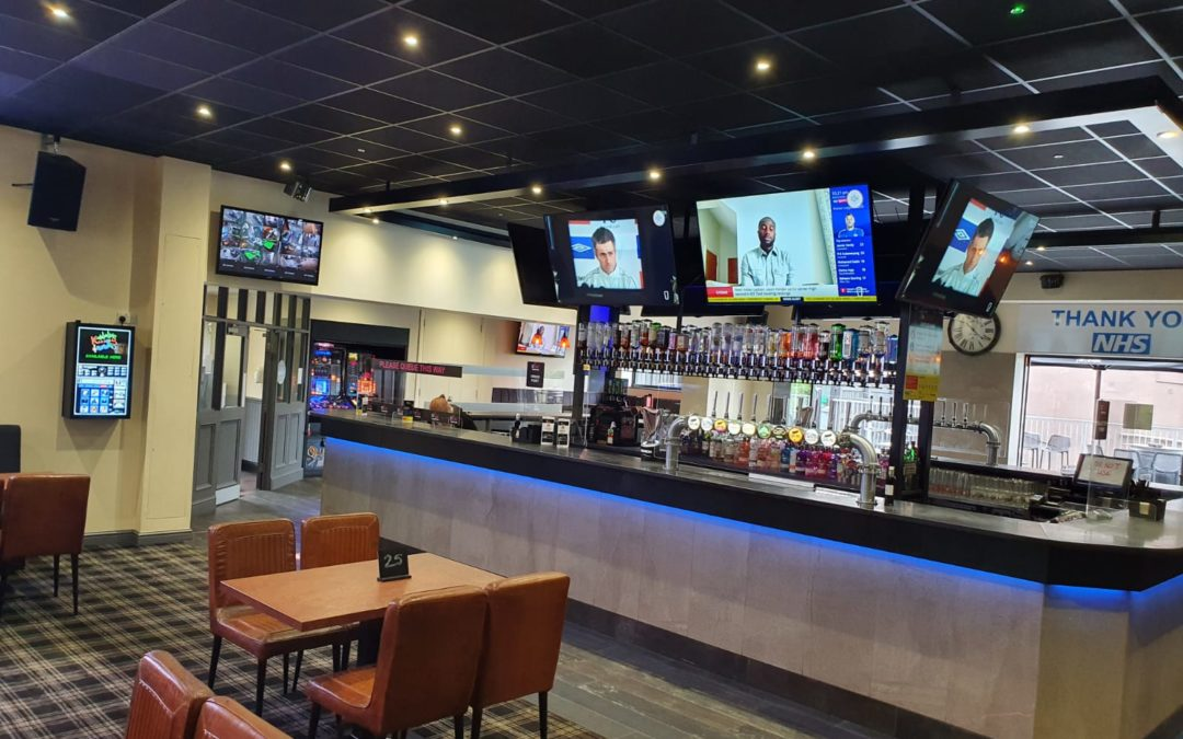 Johnson Reed equipment finance for The Pocket sports bar and club Rotherham