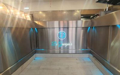 New frying range for takeaway Di Giorgio's