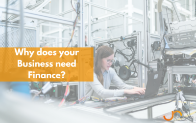 Why does your Business need Finance?