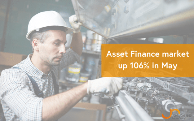 Asset Finance market up 106% in May